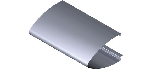Aluminium Fascia - Elliptical