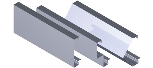 Aluminium Fascia - Square