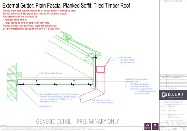 Kwikfix fascia soffit system